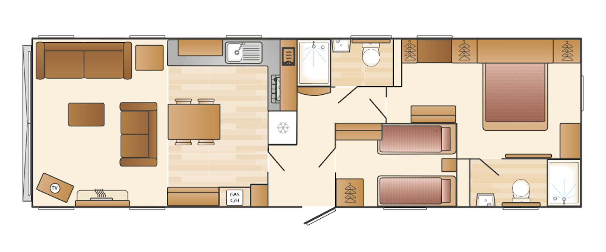 Swift Vendee Floor Plan