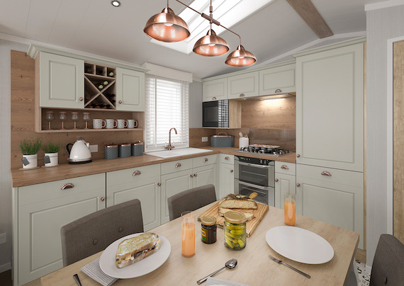 Swift Vendee Kitchen