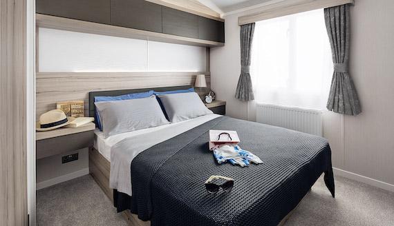 Swift Antibes Main Bedroom