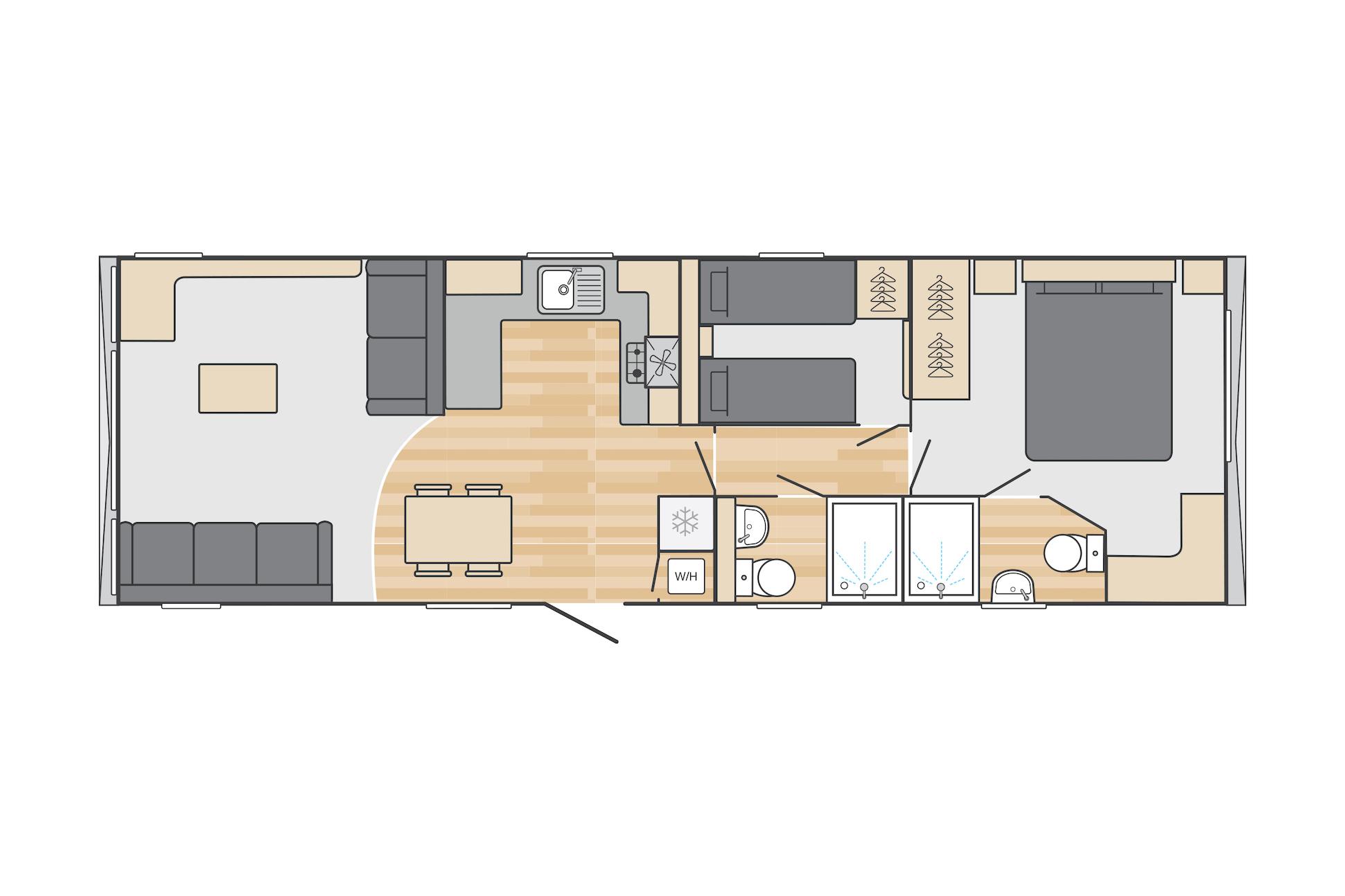 Swift Bordeaux Floor Plan